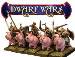Dwarf Shaven Cavalry