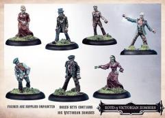 Victorian Zombies Set