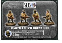 Mech Grenadiers w/.45 Auto Rifles & Gas Mask Heads #1