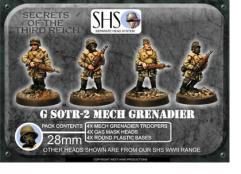 Mech Grenadiers w/.45 Auto Rifles & Gas Mask Heads #2
