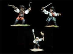 Transylvanian Mob #3 w/Various Weapons