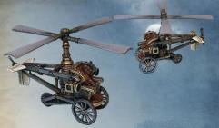 Steam Gyrocopter