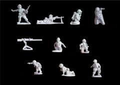U.S. Marine/Army Platoon HQ & Heavy Weapons