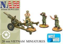 105mm Howitzer & Crew