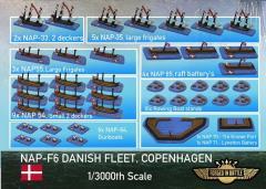 Battle of Copenhagen - Danish Fleet
