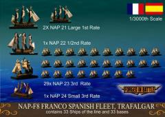 Franco Spanish Fleet - Trafalgar