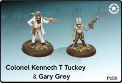 Colonel Kenneth T Tuckey & Gary Grey