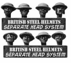 British Heads in Steel Helmets