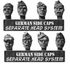German Heads w/Side Caps