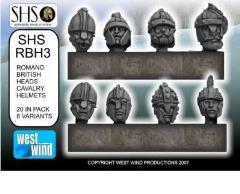 Romano British Cavalry Heads w/Helmets