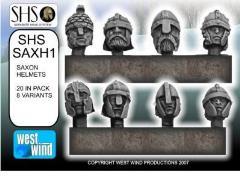 Saxon Heads w/Helmets