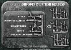 Weapons Upgrade Pack - British