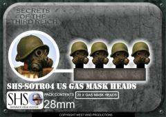US Gas Mask Heads