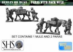 Fallshirmjager w/Pack Mule