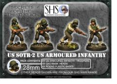 Armored Infantry w/Gas Mask Heads #2