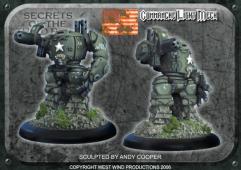 Battle Suit w/.50 Cal. HMG - Comanche