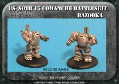 Battlesuit w/Bazooka & Assault Pod