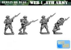 Eighth Army British Riflemen