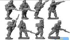 British Paratrooper Riflemen w/Berets