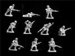 Riflemen Advancing