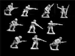Riflemen Attacking