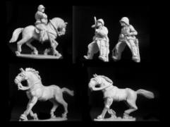 Cavalry in Helmets
