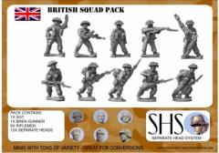 British Infantry Squad