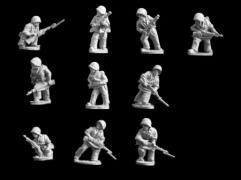 US Marines Advancing
