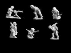US Marine Browning Heavy Machine Guns