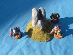 Round Rock Outcropping B - Unpainted