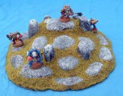 Round Rock Natural Altar - Unpainted