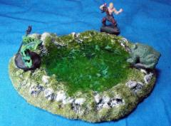 Rocky Pool - Large, Swampy