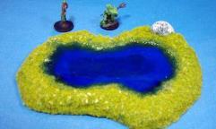Rocky Pond A - Ultra Blue