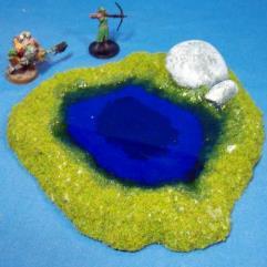 Rocky Pond B - Ultra Blue