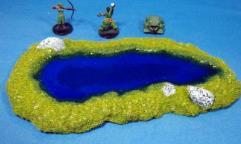 Rocky Pond C - Ultra Blue