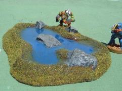Pond A - Deep Blue