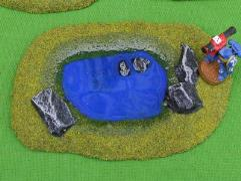 Pond B - Deep Blue