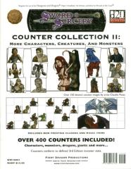 Counter Collection #2 - More Characters, Creatures and Monsters