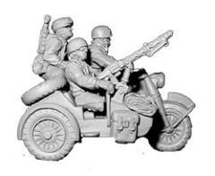 Fallshirmjager Motorcycle w/Sidecar