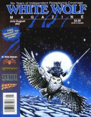 """#32 """"Shadowrun, Live Action Scenario, Werewolf Poster"""""""