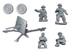 British 2pdr AT Gun and Crew Pack