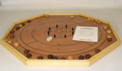 Crokinole Reversible Wood Game Board