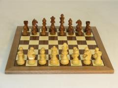 "3"" German Sheesham Chessmen"