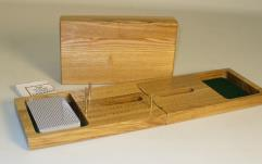 Folding Cribbage Board w/Cards
