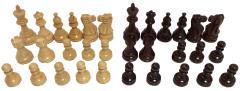 """3.75"""" Rosewood Classic Staunton Chessmen"""