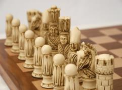 """4"""" Victorian Chessmen"""