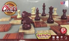 "11"" Magnetic Chess w/Wood Tone"
