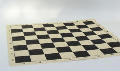"20"" Black & Ivory Silicone Mat"