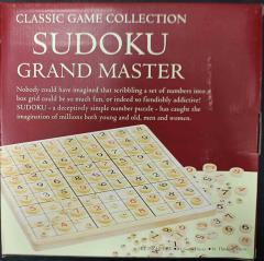 Wood Sudoku