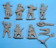 British Vickers MG'S & Crew